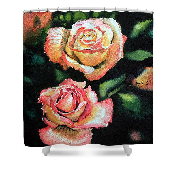 Roses I Shower Curtain by Hanne Lore Koehler