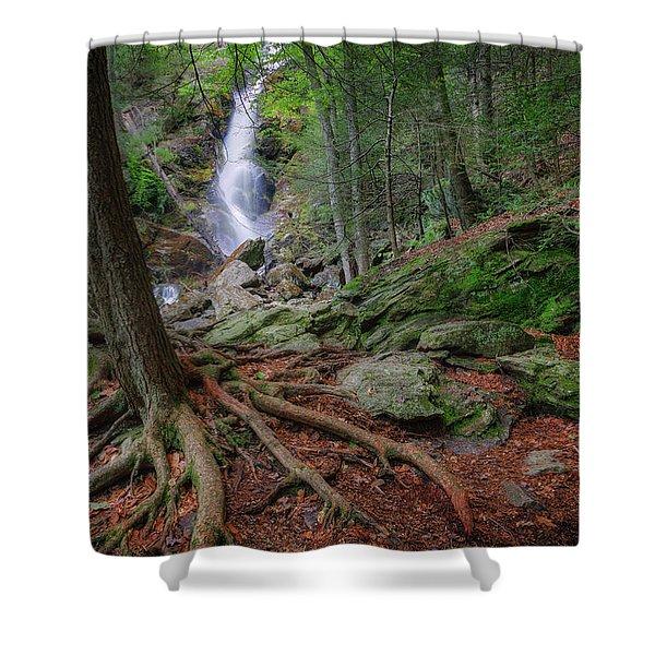 Rough Terrain Shower Curtain by Bill  Wakeley