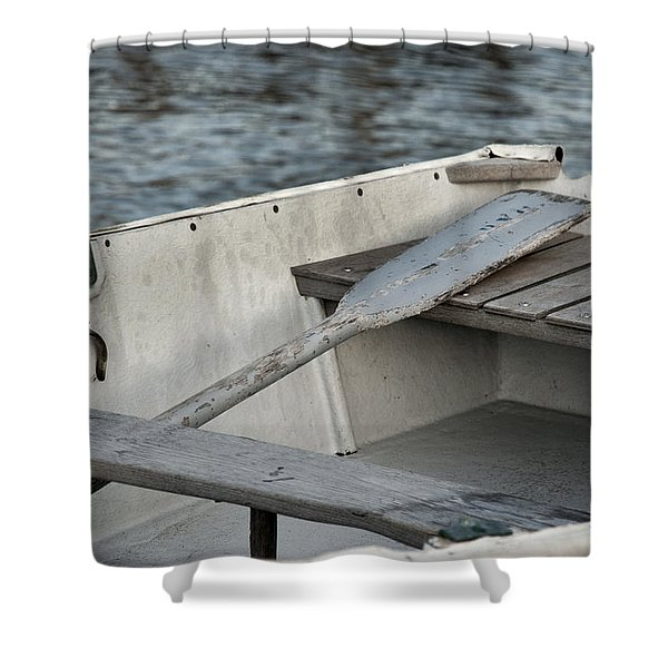 Rowboat Shower Curtain by Charles Harden