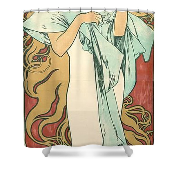 Ruinart Shower Curtain by Nomad Art And  Design