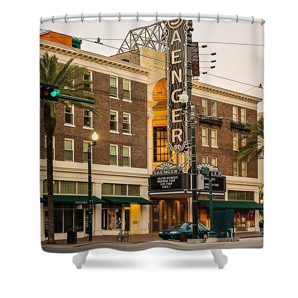 Saenger Theatre New Orleans Shower Curtain by Steve Harrington