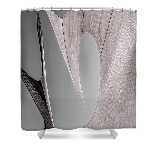 Sailcloth Abstract Number 2 Shower Curtain by Bob Orsillo