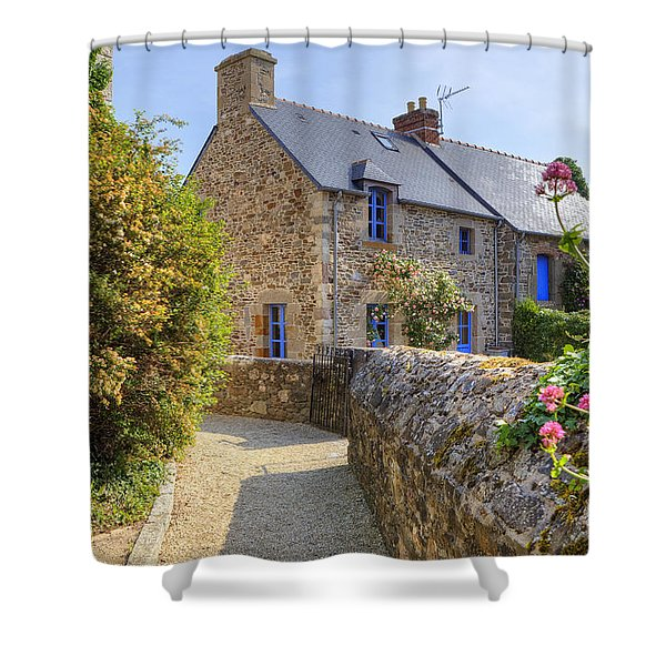 Saint-suliac - Brittany Shower Curtain by Joana Kruse