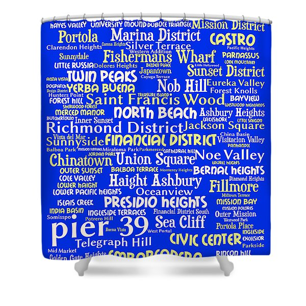 San Francisco 20130710 Shower Curtain by Wingsdomain Art and Photography