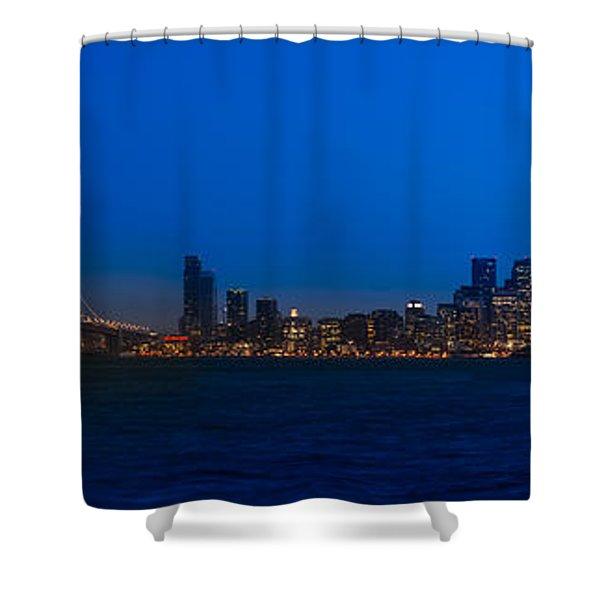 San Francisco Bay Shower Curtain by Steve Gadomski