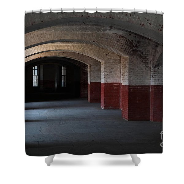 San Francisco Fort Point 5D21543 Shower Curtain by Wingsdomain Art and Photography