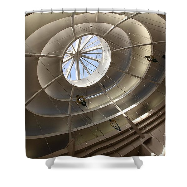 San Francisco Nordstrom Department Store - 5d20643 Shower Curtain by Wingsdomain Art and Photography