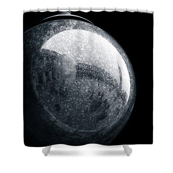 San Marco Orb Shower Curtain by Dave Bowman