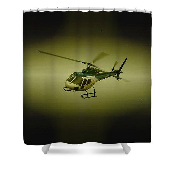 Saps Air Wing Shower Curtain by Paul Job