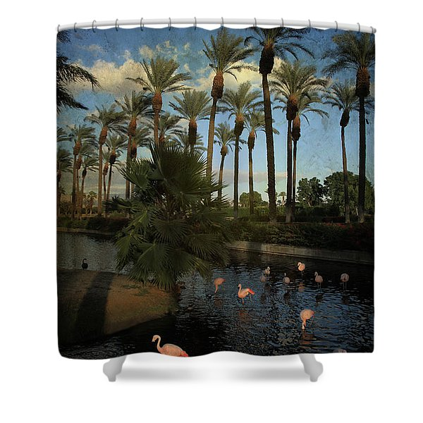 Savoring The Last Light Shower Curtain by Laurie Search