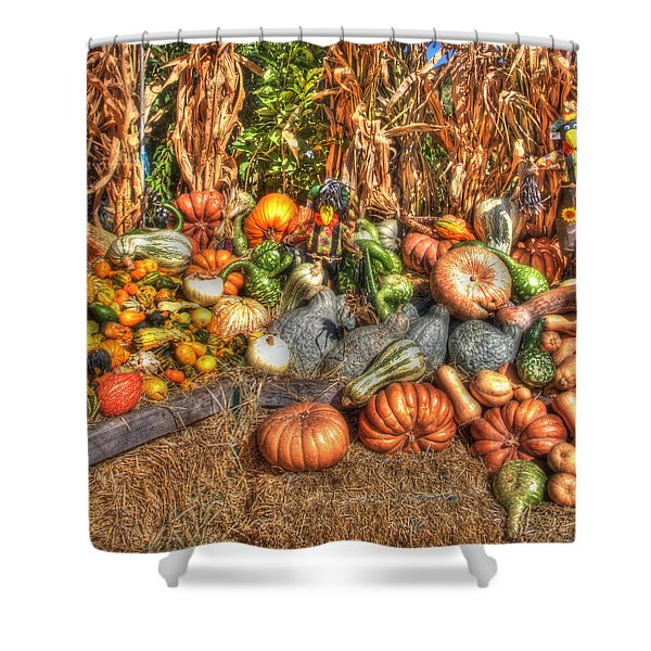 Scenes of the Season Shower Curtain by Joann Vitali