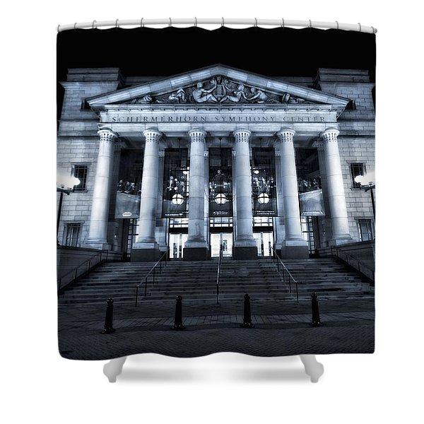 Schermerhorn Symphony Center Shower Curtain by Dan Sproul