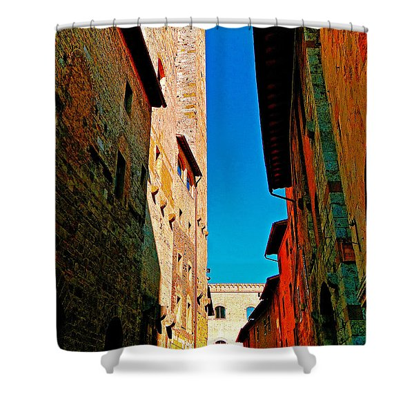 Scorched By The Sun Shower Curtain by Ira Shander