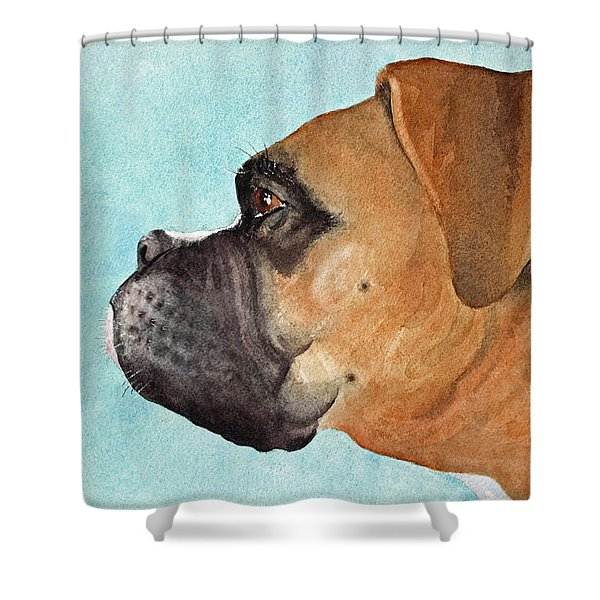 Scuba Shower Curtain by Jeff Lucas