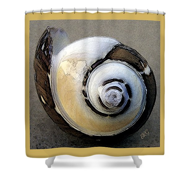 Seashells Spectacular No 3 Shower Curtain by Ben and Raisa Gertsberg
