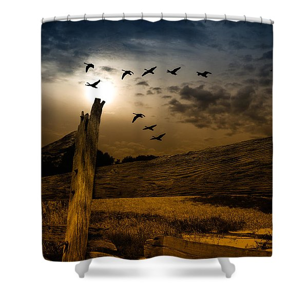 Seasons of Change Shower Curtain by Bob Orsillo