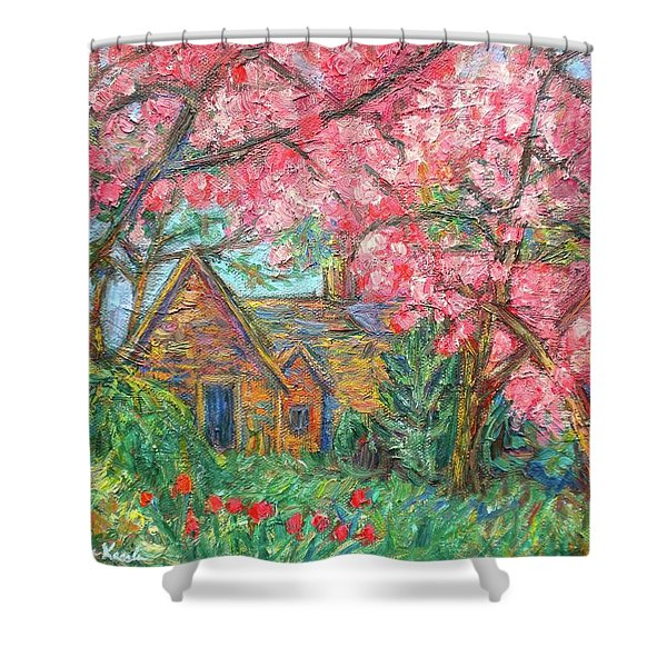 Secluded Home Shower Curtain by Kendall Kessler