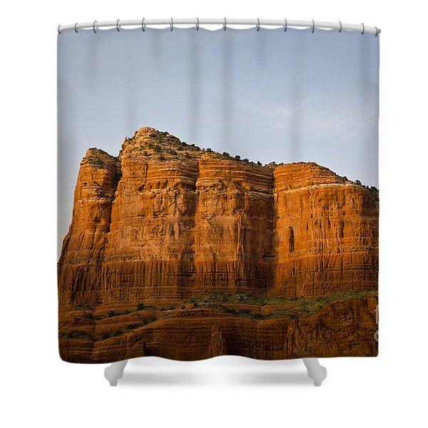 Sedona Landscape VIII Shower Curtain by Dave Gordon