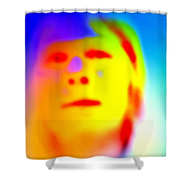 see myself  Shower Curtain by Hilde Widerberg