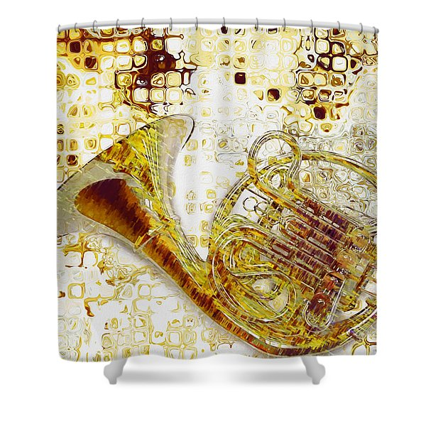 See The Sound Shower Curtain by Jack Zulli