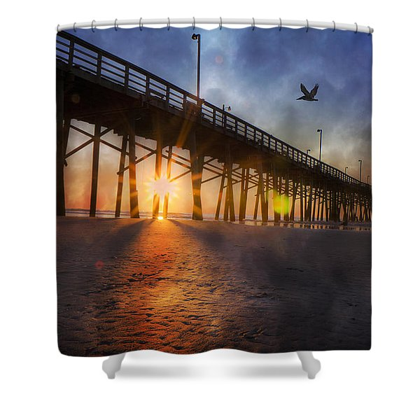 Seize the Day Shower Curtain by Betsy C  Knapp
