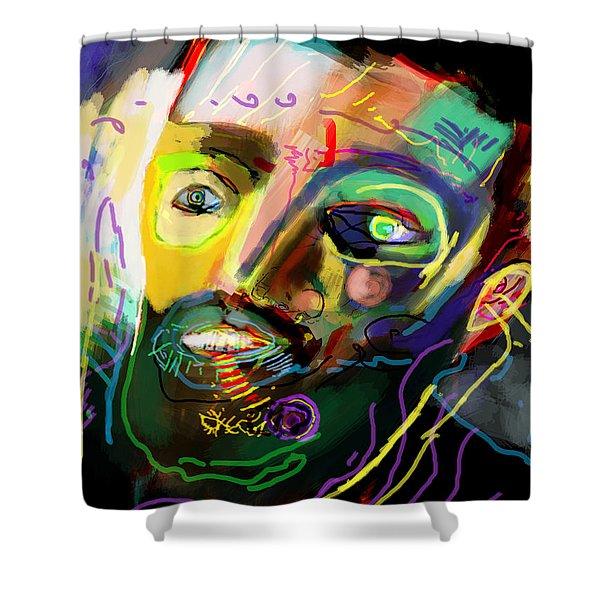 self development 11 Shower Curtain by David Baruch Wolk