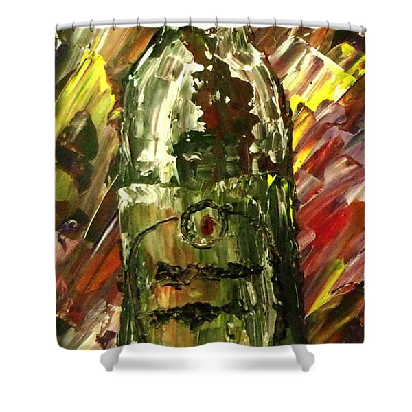 Sensual Explosion Bottle 2 Shower Curtain by Mark Moore