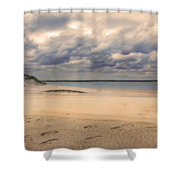 Serenity Place Shower Curtain by Betsy C  Knapp