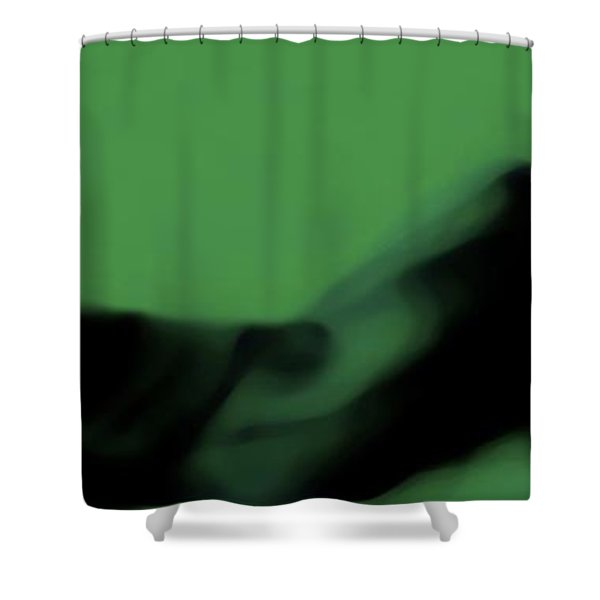Serpents Lounge Shower Curtain by Jessica Shelton