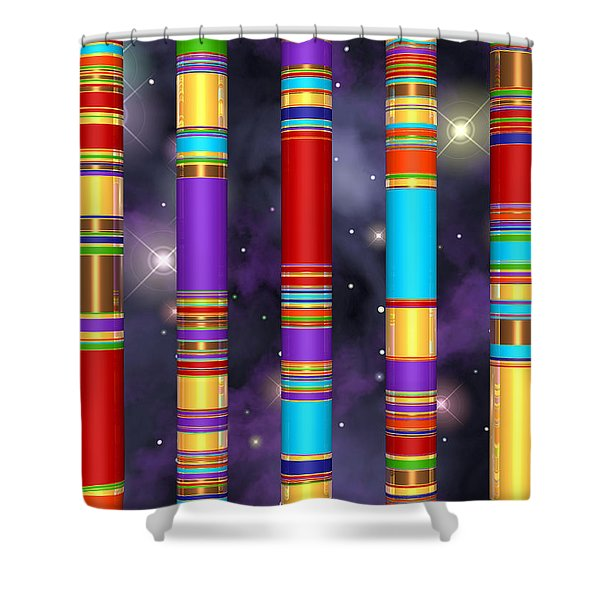 Seven Shower Curtain by Andreas Thust