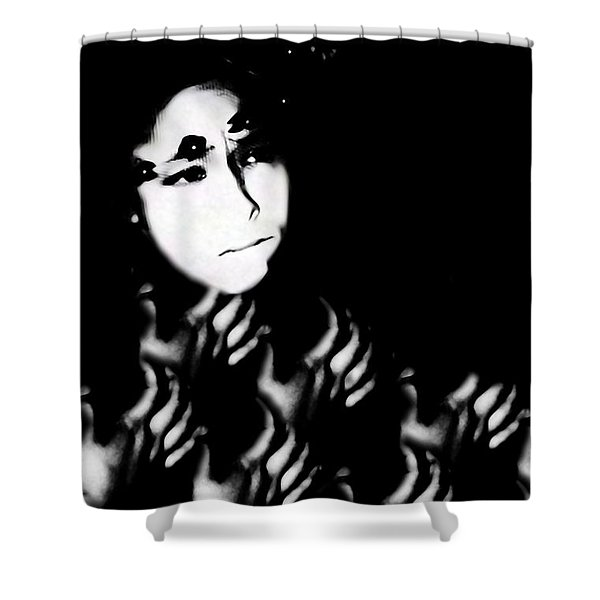Severe Mental Distress Shower Curtain by Jessica Shelton