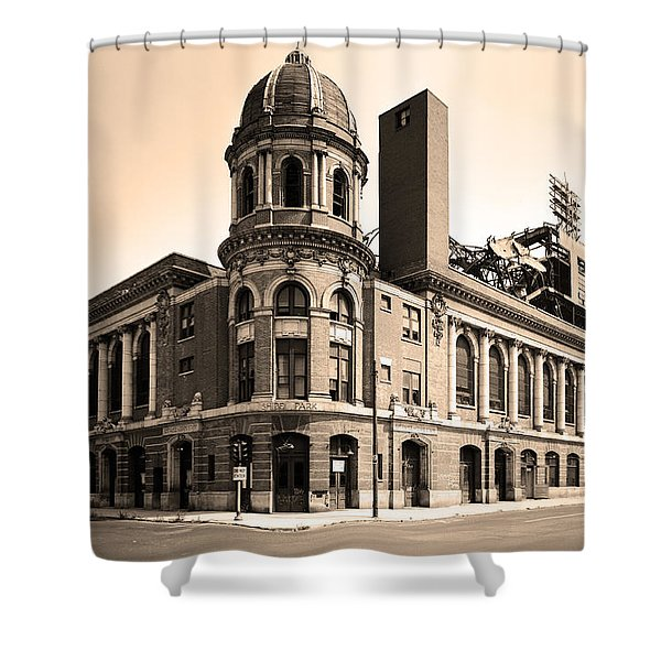 Shibe Park  Shower Curtain by Bill Cannon