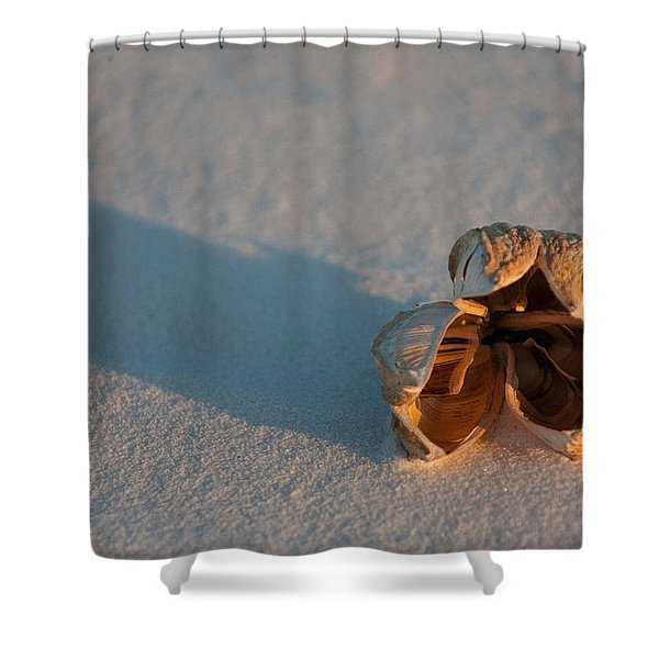 Silence Shower Curtain by Ralf Kaiser