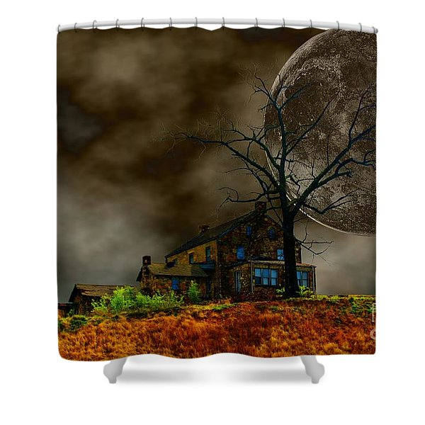Silent Hill 2 Shower Curtain by Dan Stone