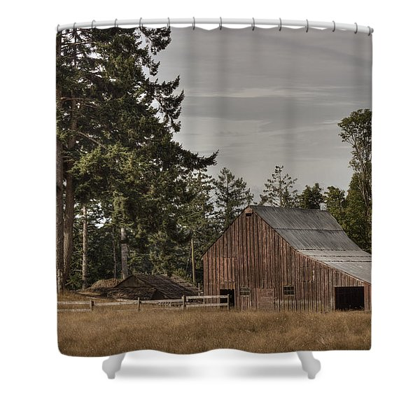 Simpler Times 2 Shower Curtain by Randy Hall