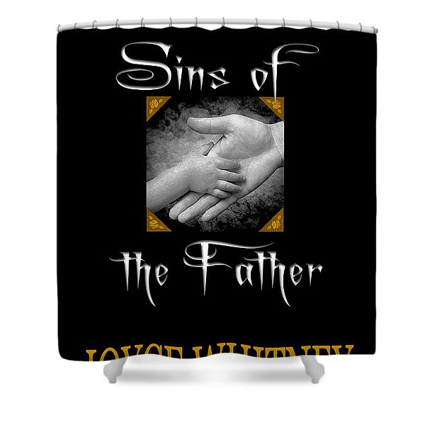 Sins of the Father book cover Shower Curtain by Mike Nellums