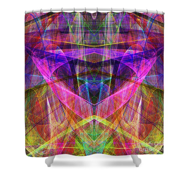 Sixth Sense ap130511-22-20130616 Square Shower Curtain by Wingsdomain Art and Photography