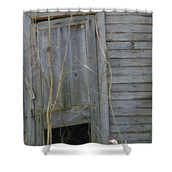 Skewed Shower Curtain by Nick Kirby