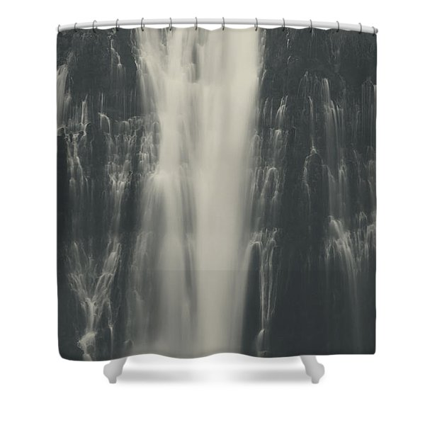 Smooth Shower Curtain by Laurie Search