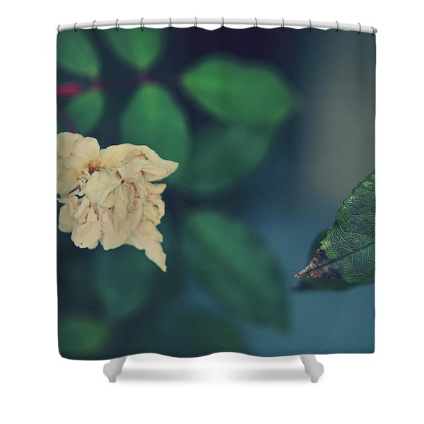 So It's Goodbye To Love Shower Curtain by Laurie Search