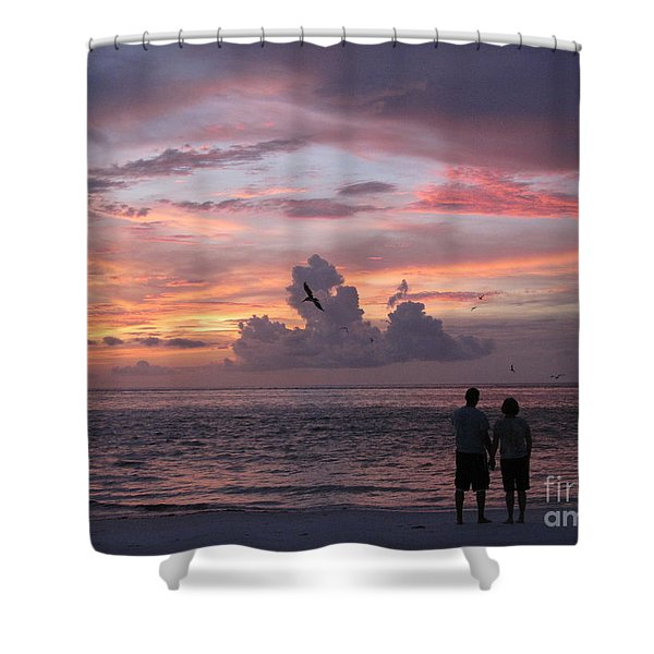Soaring Shower Curtain by Elizabeth Carr