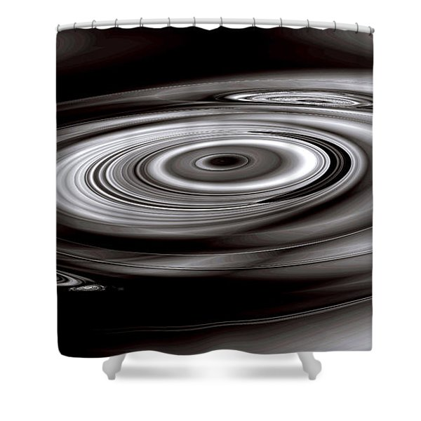 Sonic Mercury Shower Curtain by Kevin Trow