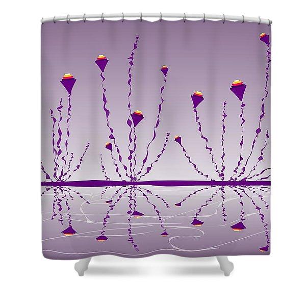 Soul Flowers Shower Curtain by Anastasiya Malakhova