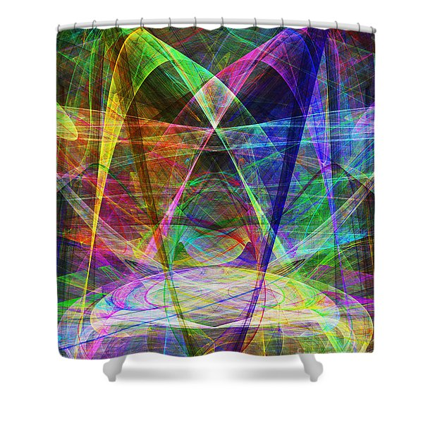 Space Odyssey 20130511v2 Shower Curtain by Wingsdomain Art and Photography