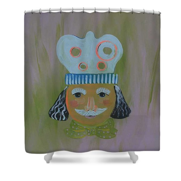 Spagetti Lovers Shower Curtain by PainterArtist FIN