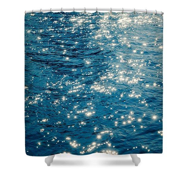 Sparkles Shower Curtain by Wim Lanclus