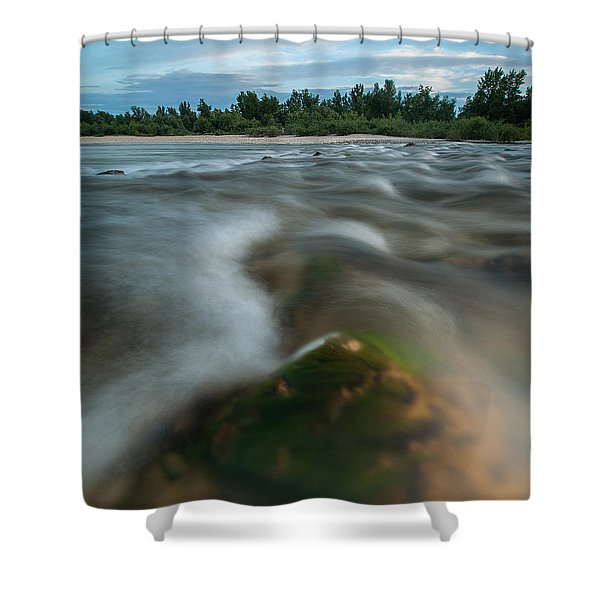 Spring Afternoon Shower Curtain by Davorin Mance