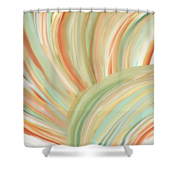 Spring Colors Shower Curtain by Lourry Legarde
