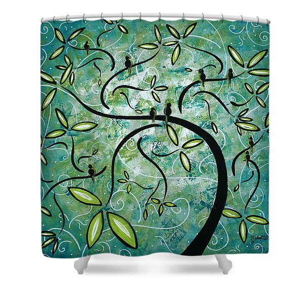 Spring Shine by MADART Shower Curtain by Megan Duncanson