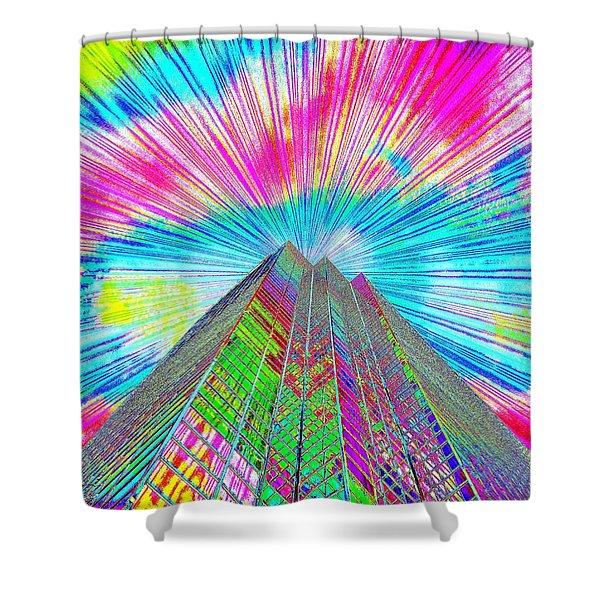 Spring Time In Denver Shower Curtain by Bobbie Barth